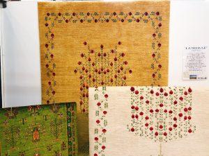 イラン遊牧民として最古の部族が織る ギャベ 希少で品質が素晴らしいペルシャギャベ~ルリバブ~下松店にてのアイキャッチ画像