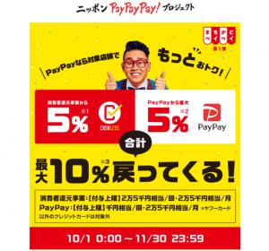 paypay LINEpay 楽天pay aupay+キャッシュレス還元で雑貨をお得にゲットのアイキャッチ画像