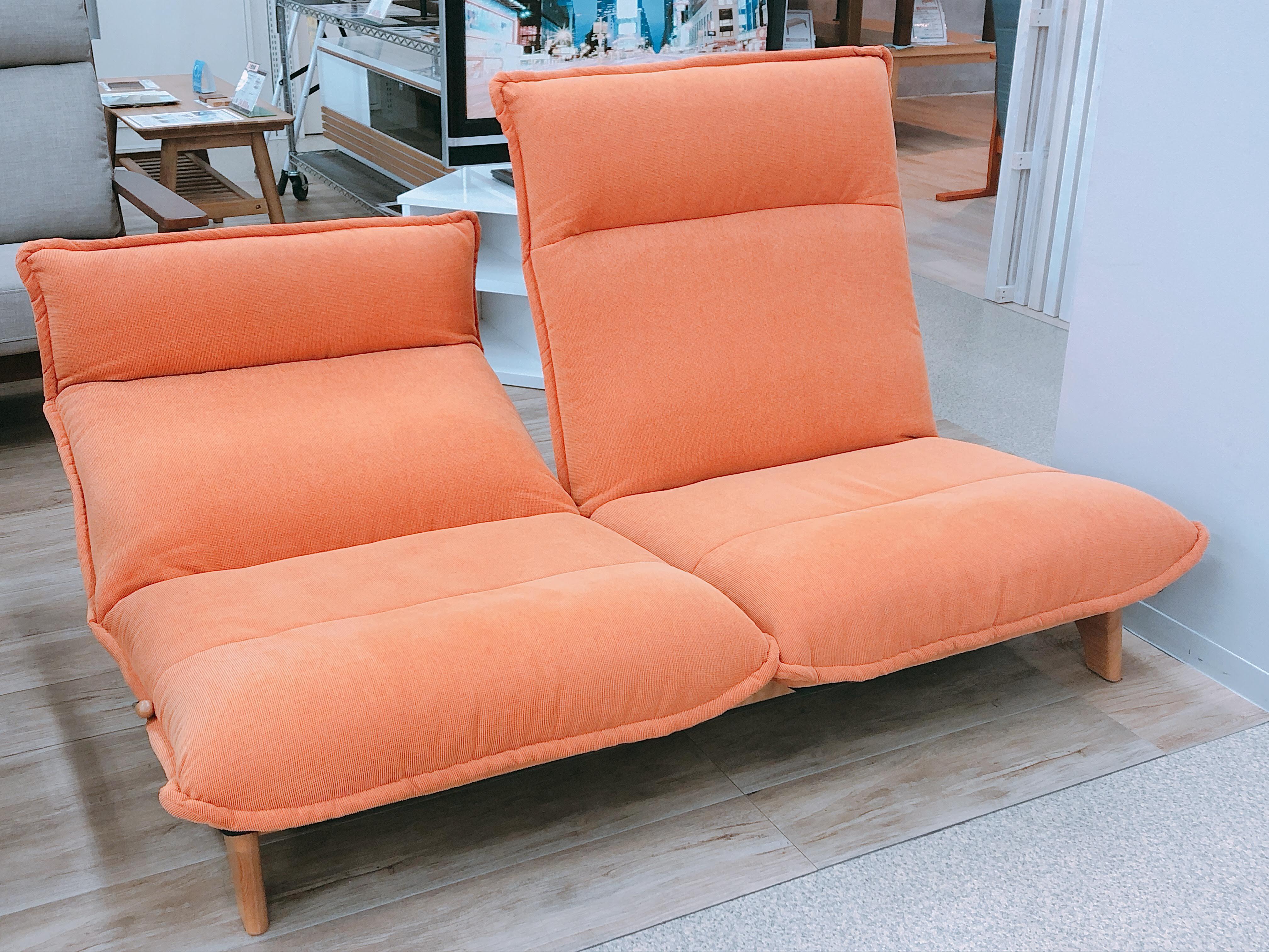 2人掛けリクライニングソファー モデルチェンジのための画像2