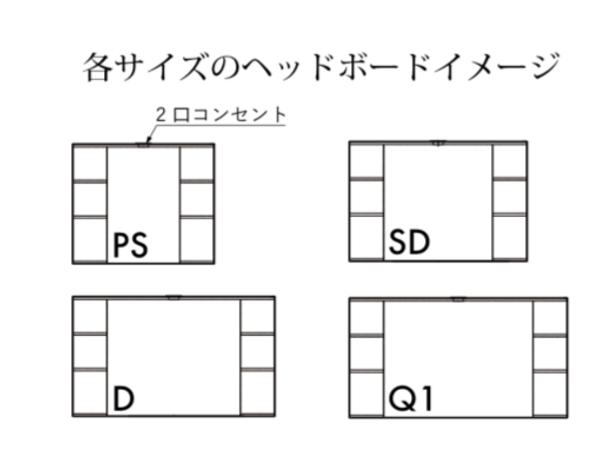 収納力とデザインを両立した 日本製シングル ベッドフレームの画像5