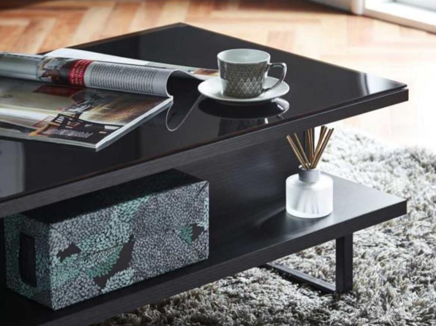 105cm コンパクトでオシャレなセンターテーブルの画像2