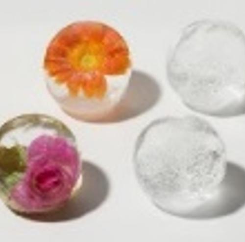 透明な丸氷が作れる製氷器 お客様があっと驚くの画像1