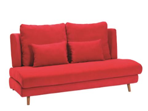 座面が広い ゆったり ファブリックソファー 6色から選べるの画像6