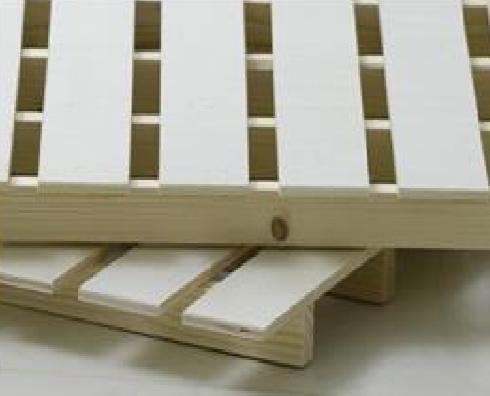 シンプルデザインで機能的 やさしい印象の二段ベッドの画像6