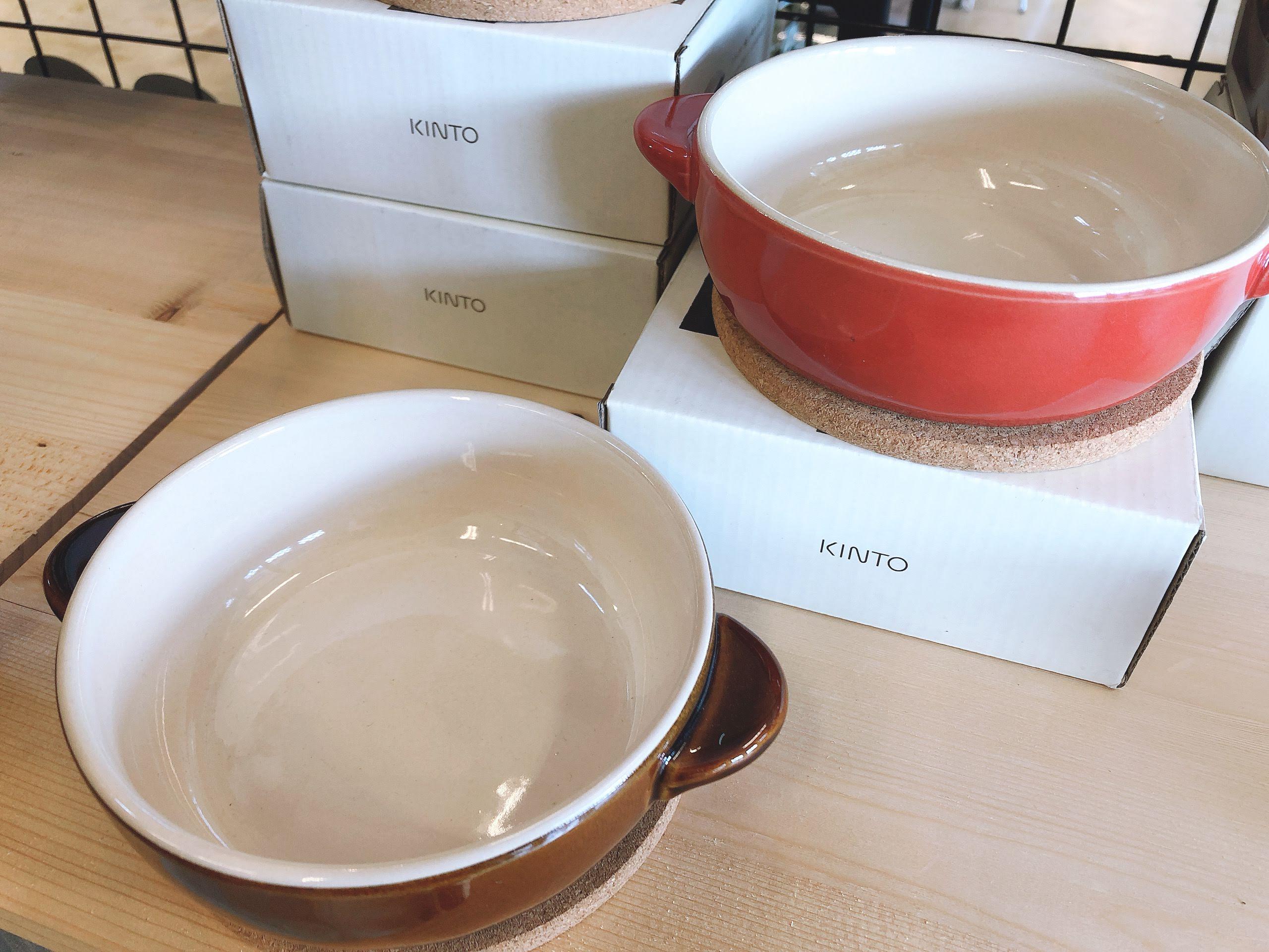 キント―  丸グラタン皿・オーバルグラタン皿・スープボウル 雑貨売り切り特価の画像2