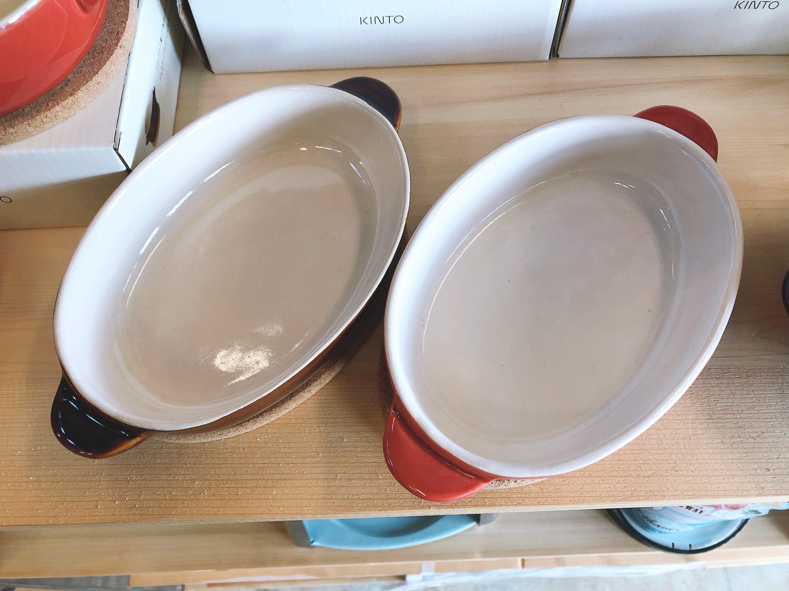 キント―  丸グラタン皿・オーバルグラタン皿・スープボウル 雑貨売り切り特価の画像6