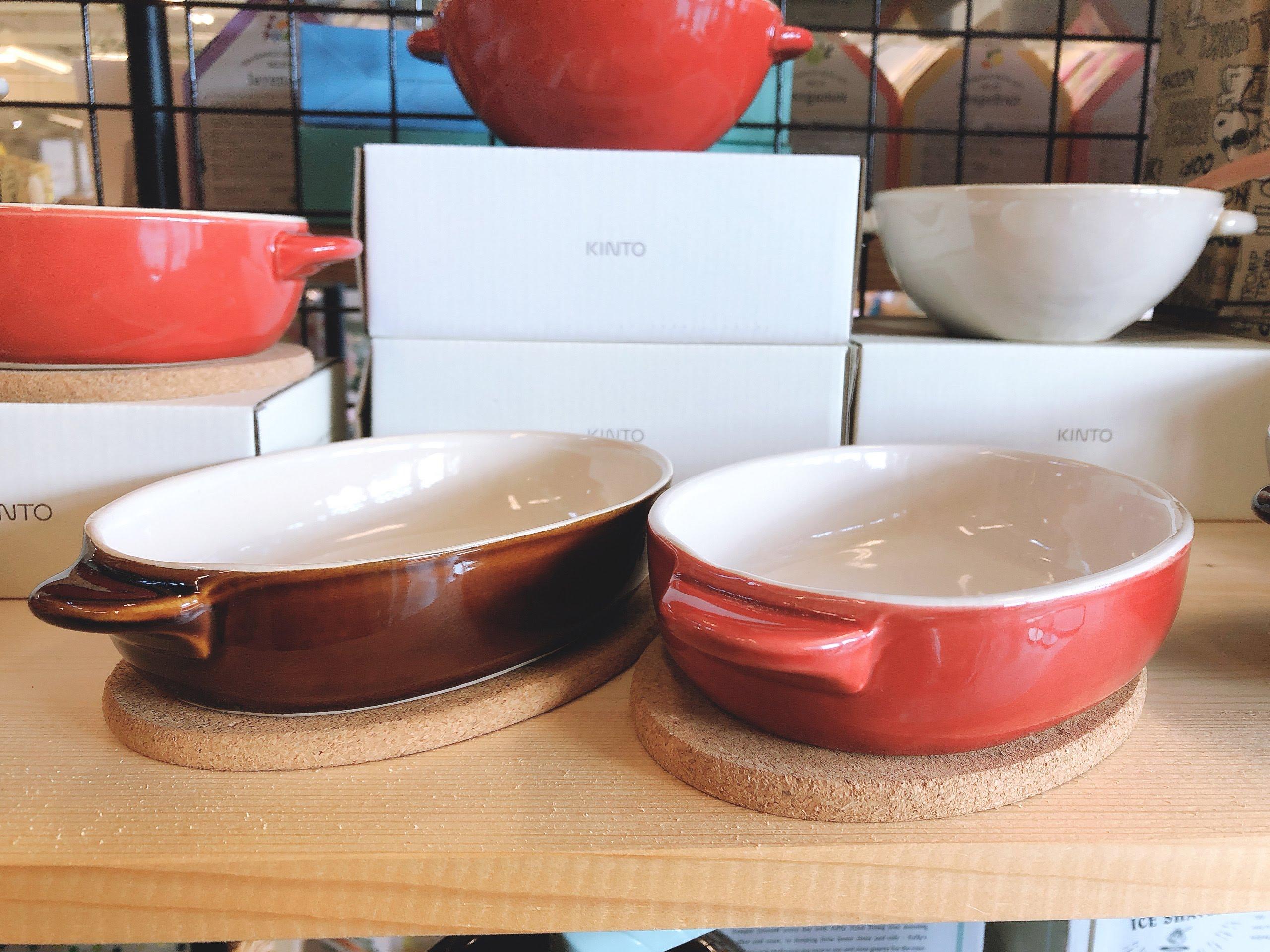 キント―  丸グラタン皿・オーバルグラタン皿・スープボウル 雑貨売り切り特価の画像5