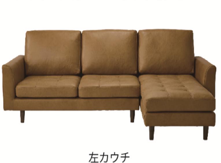 新素材コンパクト カウチソファー|組み換え可能でレイアウトいろいろの画像4