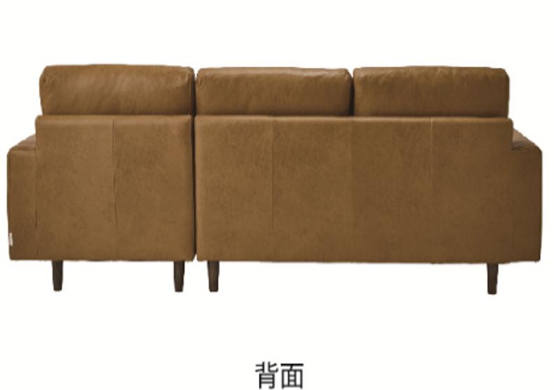 新素材コンパクト カウチソファー|組み換え可能でレイアウトいろいろの画像5