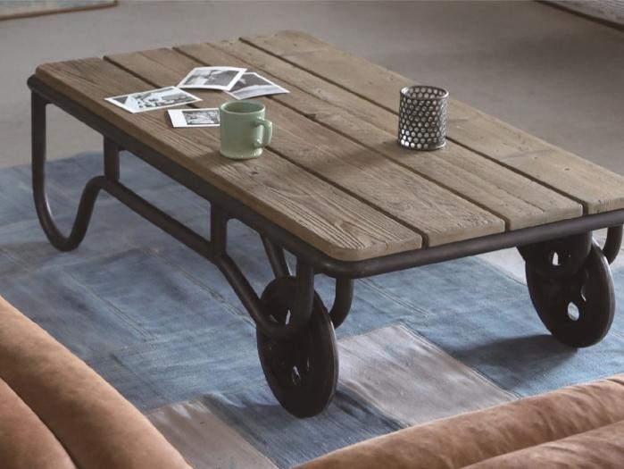 農機具をイメージしてデザインされた古材テーブル CRASHの画像2