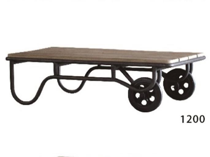 農機具をイメージしてデザインされた古材テーブル CRASHの画像3