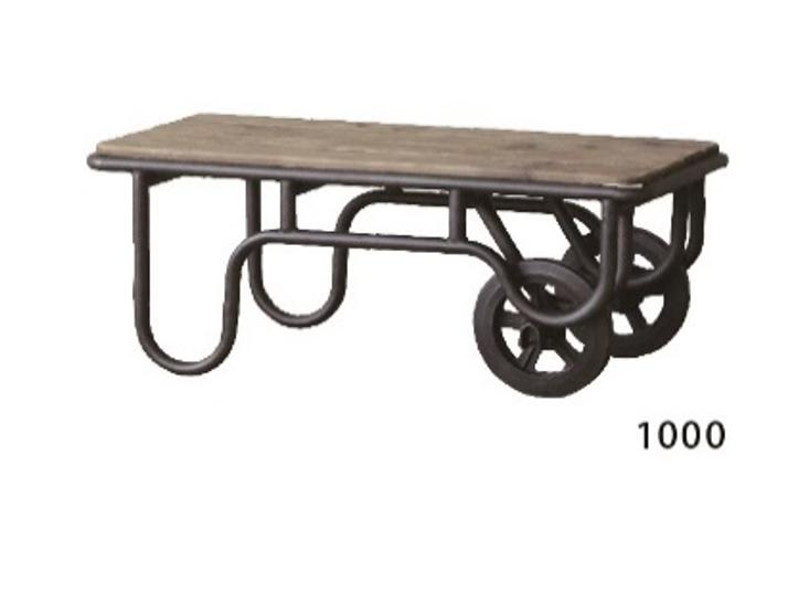 農機具をイメージしてデザインされた古材テーブル CRASHの画像4