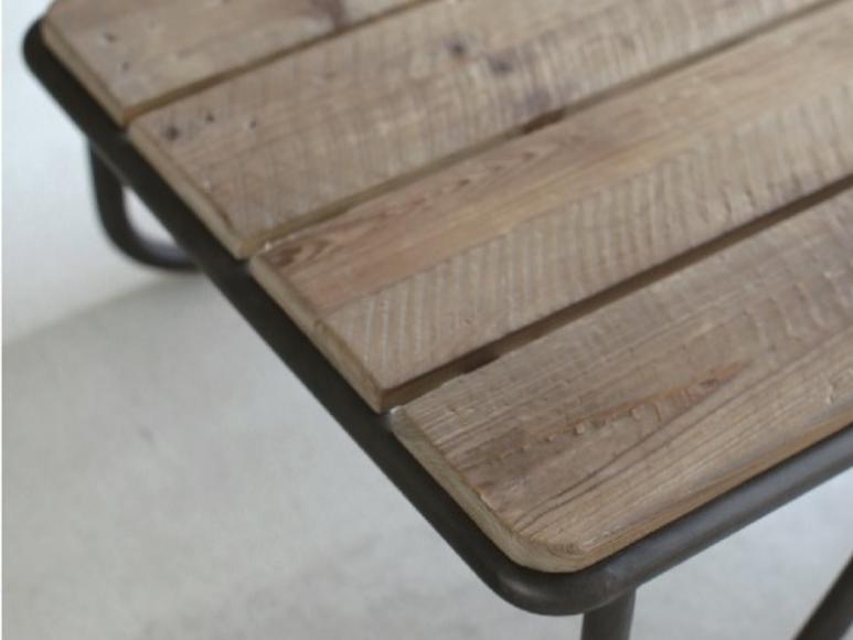 農機具をイメージしてデザインされた古材テーブル CRASHの画像6