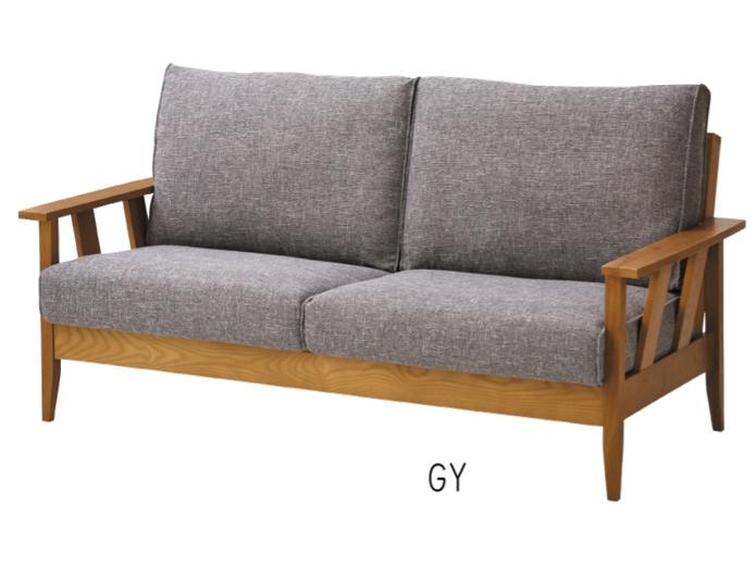 大人気のファブリック&ウッド 3人掛けソファーがバージョンアップで復活の画像3