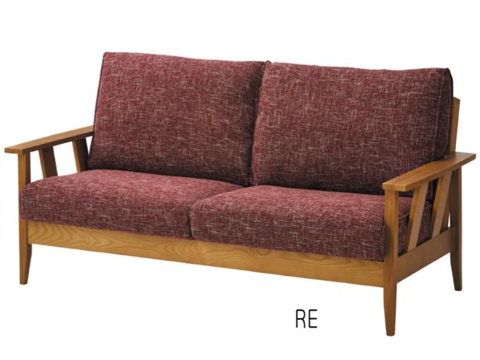 大人気のファブリック&ウッド 3人掛けソファーがバージョンアップで復活の画像5