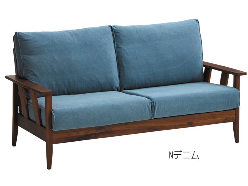 大人気のファブリック&ウッド 3人掛けソファーがバージョンアップで復活の画像1
