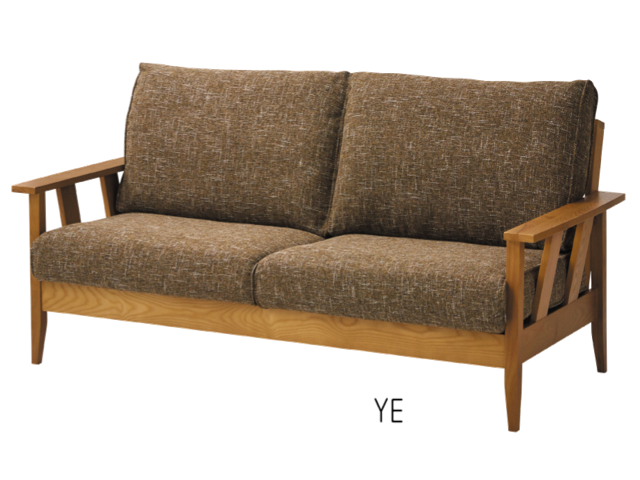 大人気のファブリック&ウッド 3人掛けソファーがバージョンアップで復活の画像6