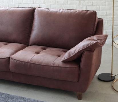 新素材スーパーレザーテックスのイタリアンデザイン2.5人掛けソファーの画像3