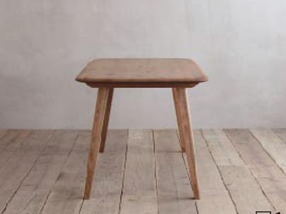 ナラ無垢材節ありをあえて使用シンプル ダイニングテーブルCRASHブランド Easy Lifeの画像5