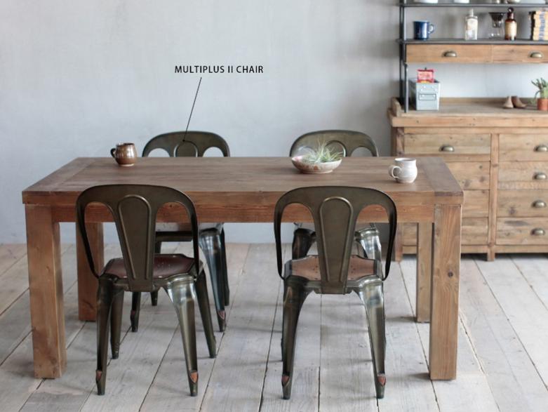 パイン古材のダイニングテーブル CRASHブランド Knot antiquesの画像2