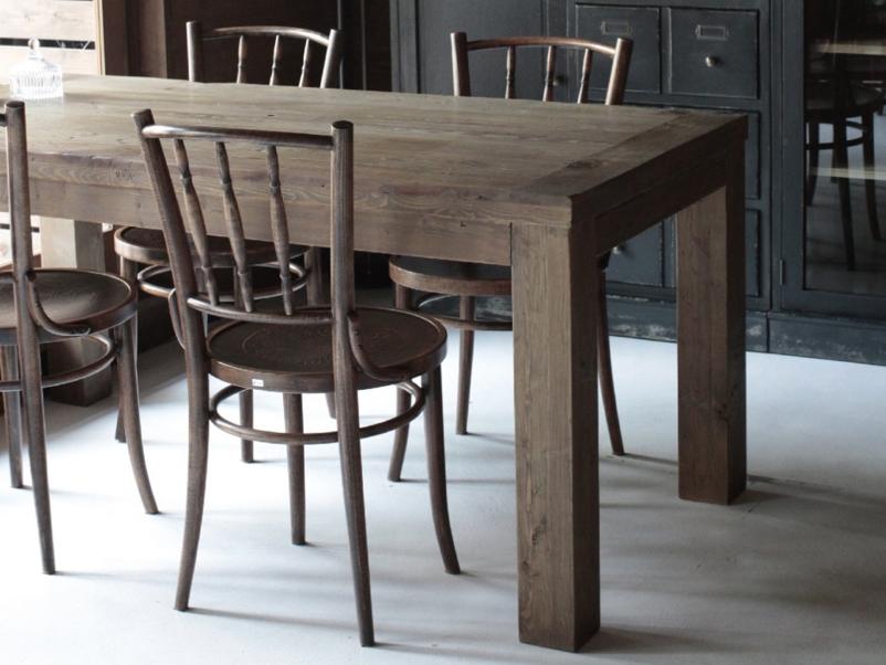 パイン古材のダイニングテーブル CRASHブランド Knot antiquesの画像1
