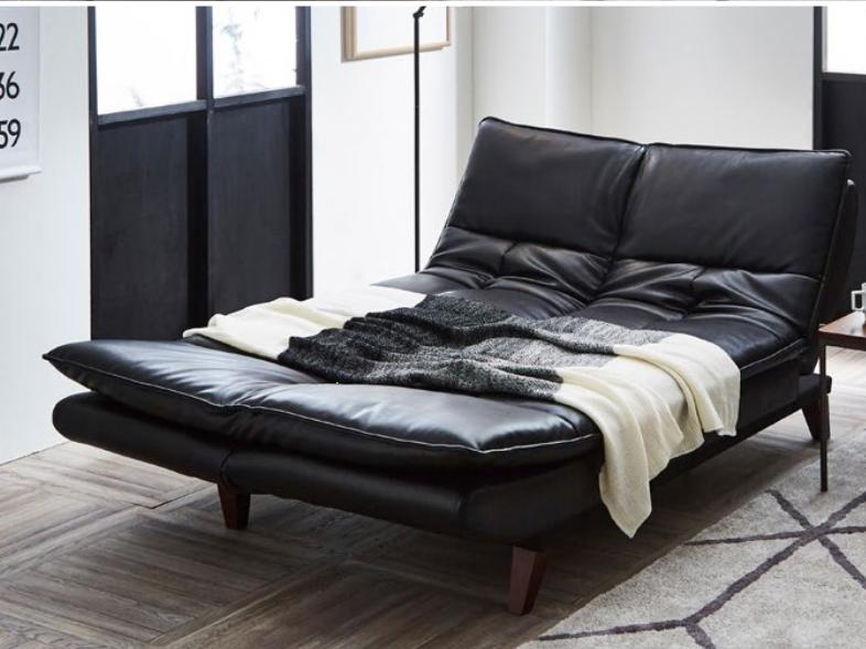 新素材ユーロテック張り変身ソファーベッドの画像2