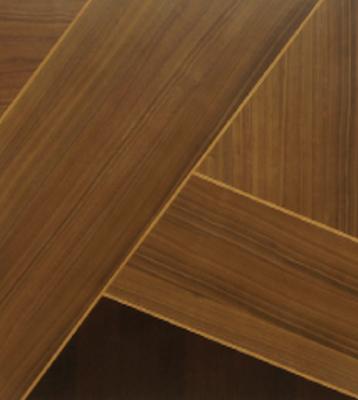 3種類の木材を貼り分けたテーブル お洒落な4人用ダイニングセットの画像3
