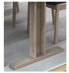 1㎝単位の長さでオーダーできるテーブル 天板色・脚の材と色も選べますの画像5