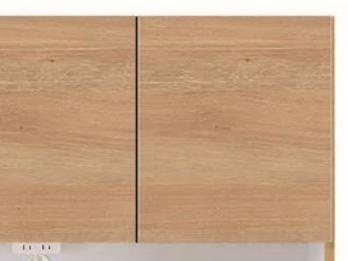 人気のオークとウォールナット木目柄のスッキリデザイン ダイニングボードの画像4